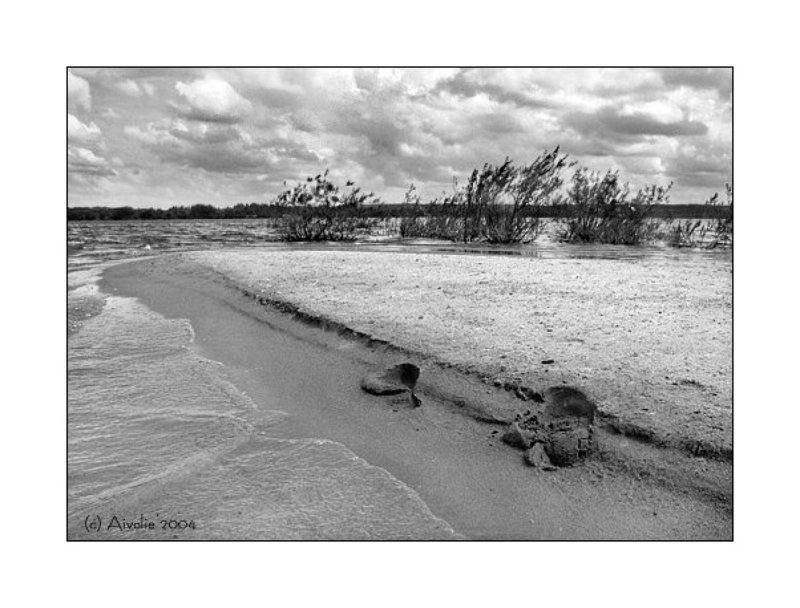 озеро, вода, песок, берег Берегphoto preview