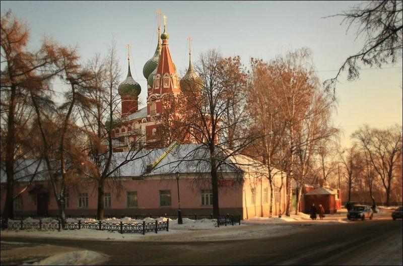ярославль, собор, храм, зима * * *photo preview