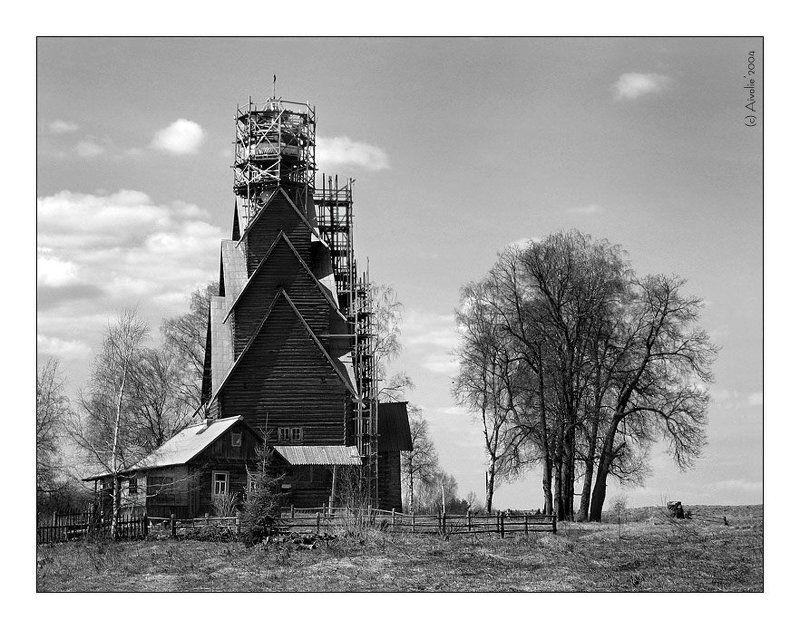 ширково, церковь, река, вода, небо Ширково (2)photo preview