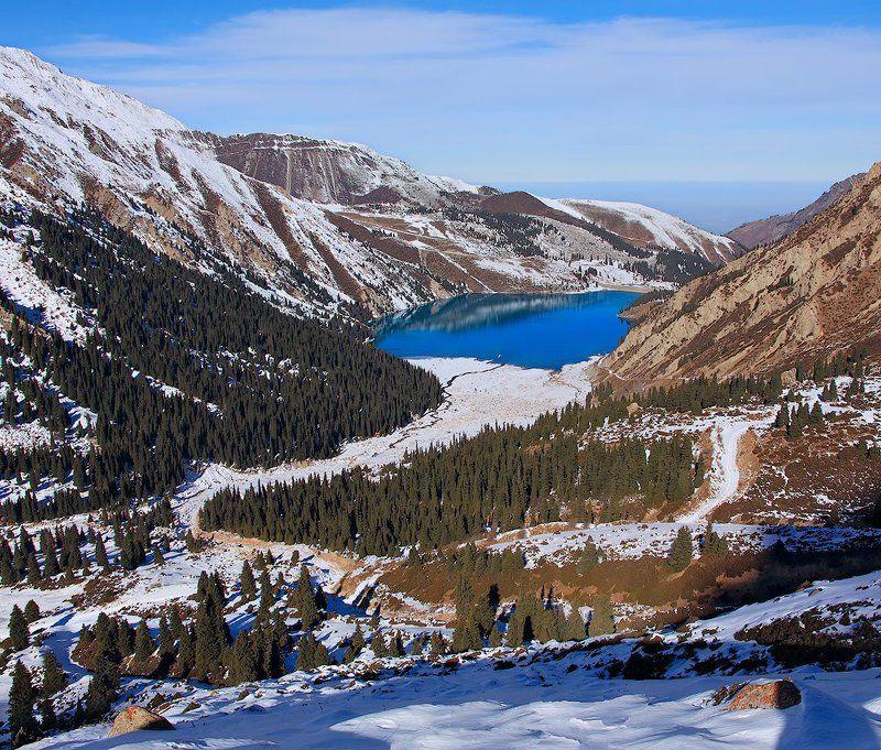 озеро, алматинское, большое Mirror of mountain soulphoto preview