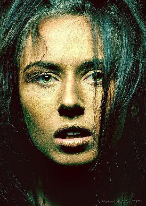 портрет, глаза, взгляд Потеряв себяphoto preview