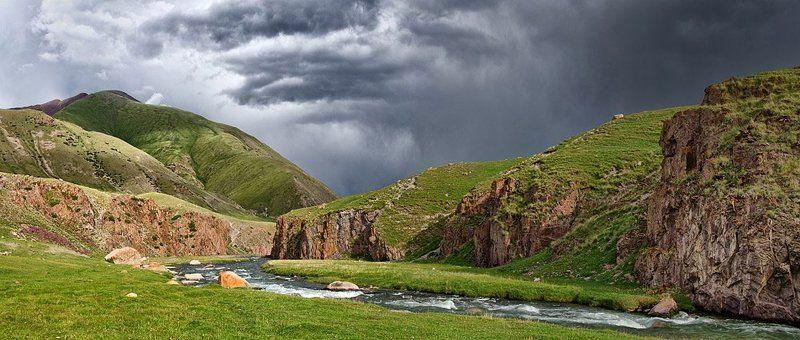 горы, тянь-шань, киргизия photo preview