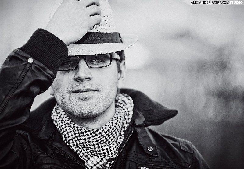 портрет, парень, шляпа photo preview