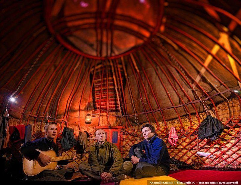 велоуфа, тянь-шань, киргизия, сон-кель, поход В киргизской юртеphoto preview