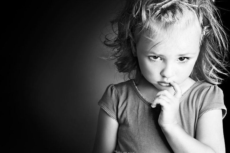 портрет, дети, девочка, взгляд photo preview