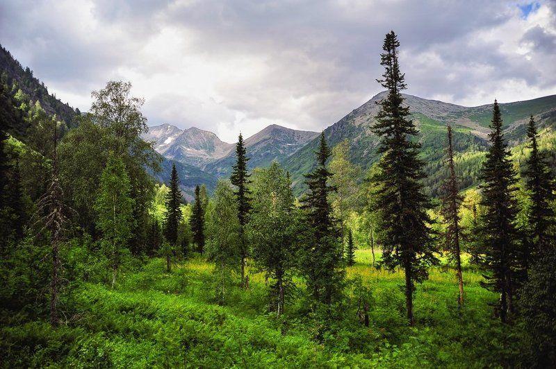 поднебесные зубья, хакасия, малашин григорий, красивый пейзаж photo preview