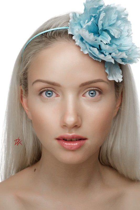 студия, портрет, блондинка, девушка photo preview