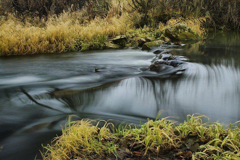 пейзаж, природа, вода, войново, лес, унжа, река, меленки Свинцовая водаphoto preview