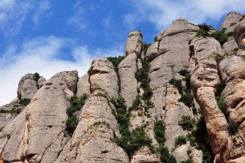 монсеррат, горы, каталония, испания photo preview