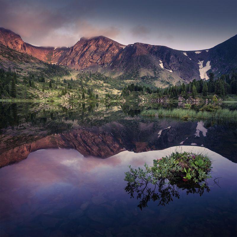 каракольские озера Зеркало Каракольских озер.photo preview