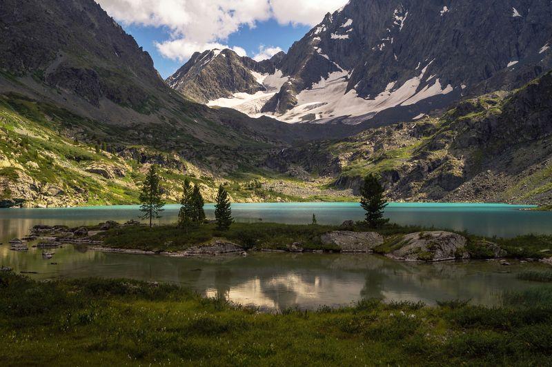 природа лето август алтай озеро куйгук горы пейзаж путешествие Озеро Куйгук...photo preview