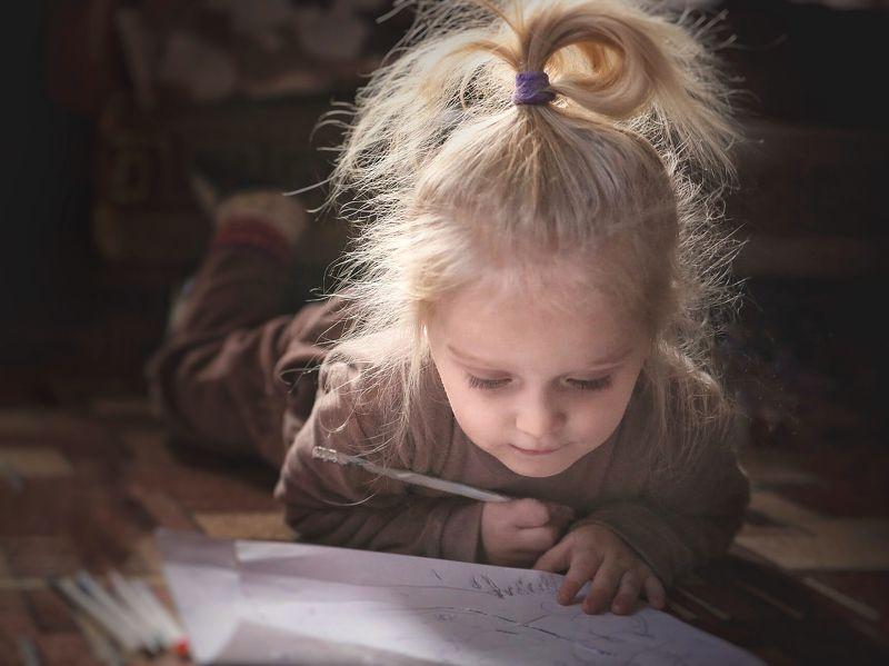 детство, портрет, цвет, ребёнок, семья, family, child, childhood, portrait, color Художницаphoto preview