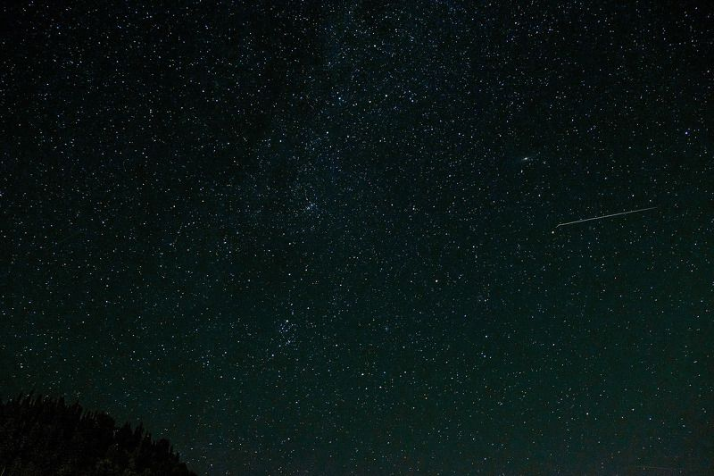 небо, ночь, звезды  В августе. photo preview