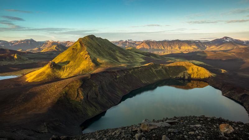 landmannalaugar,iceland,горы,рассвет Hnausapollurphoto preview