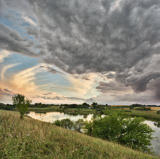 Вечер на реке Семенёк