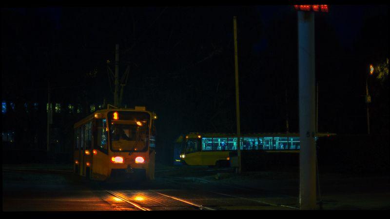 Ночной трамвайphoto preview