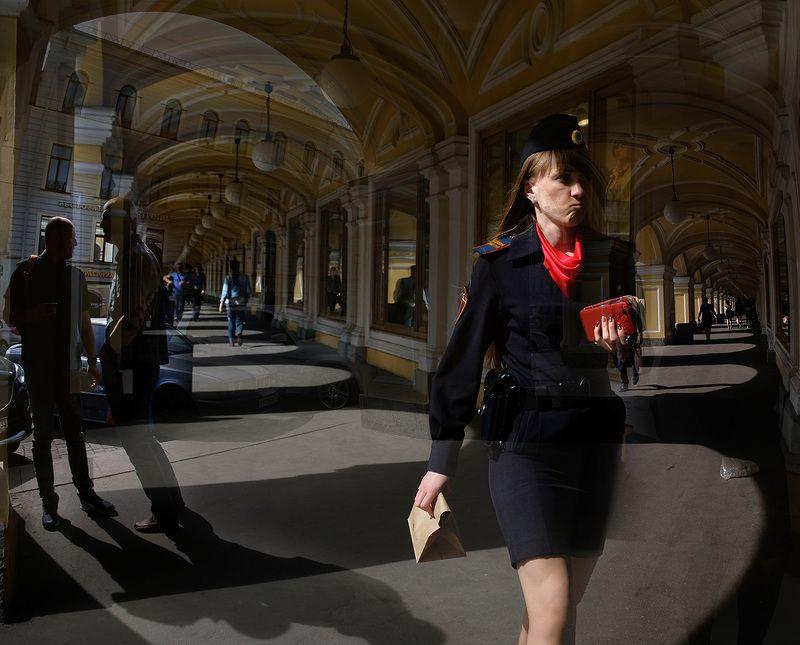санкт-петербург, город, гостинный двор, люди ***photo preview