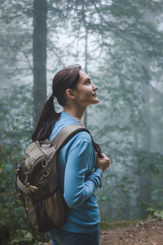 Вдыхая лесной туманphoto preview