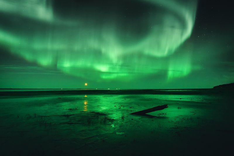 ямал ,сияние, aurora ,природа ,салехард ,ночь ,северное сияние ,пейзаж \