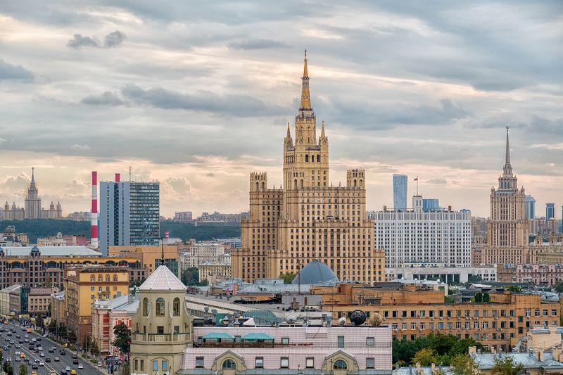 lumix russia фотограф москва  городской пейзаж  urban landscape Виды с крышphoto preview