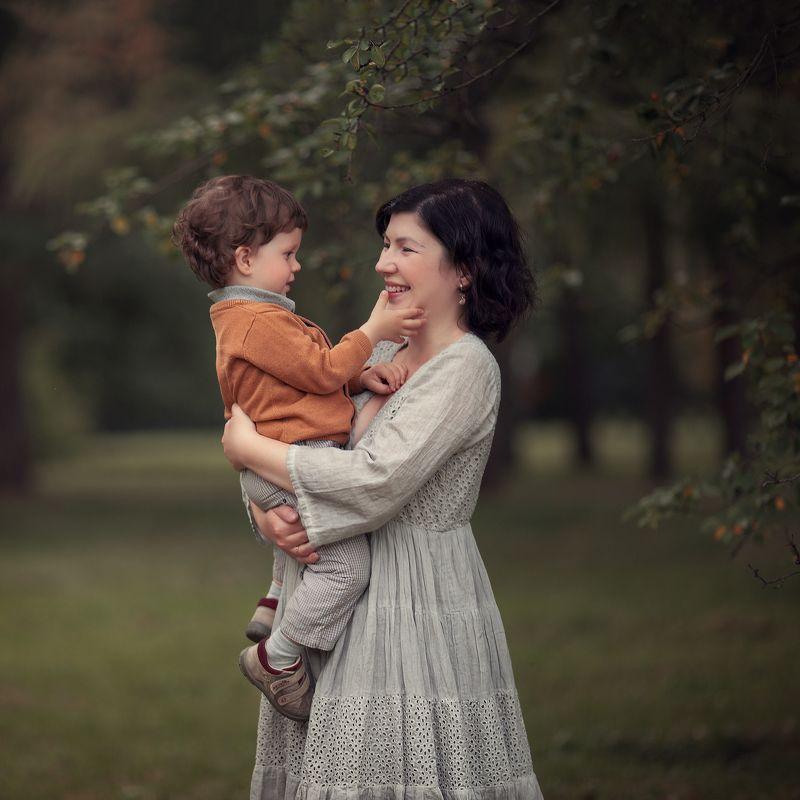 мама,сын,сентябрь Мама и сын.photo preview