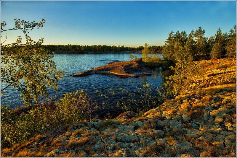 карелия, ладожское озеро, вечер *  *  *photo preview