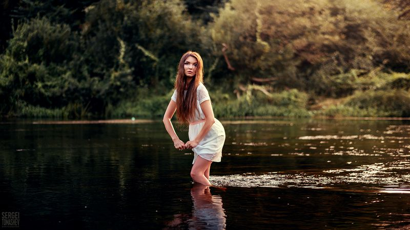 закат, свет, река Дианаphoto preview