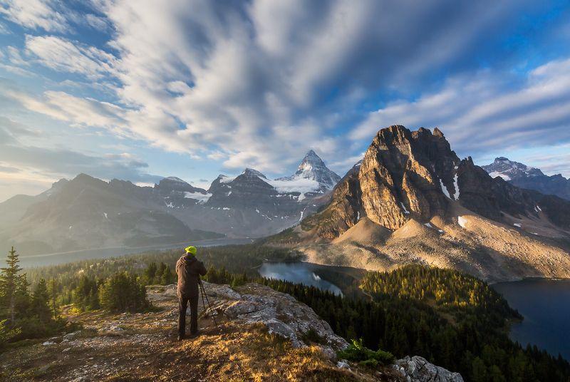 assiniboine sunburst  sky lake КАЙФphoto preview