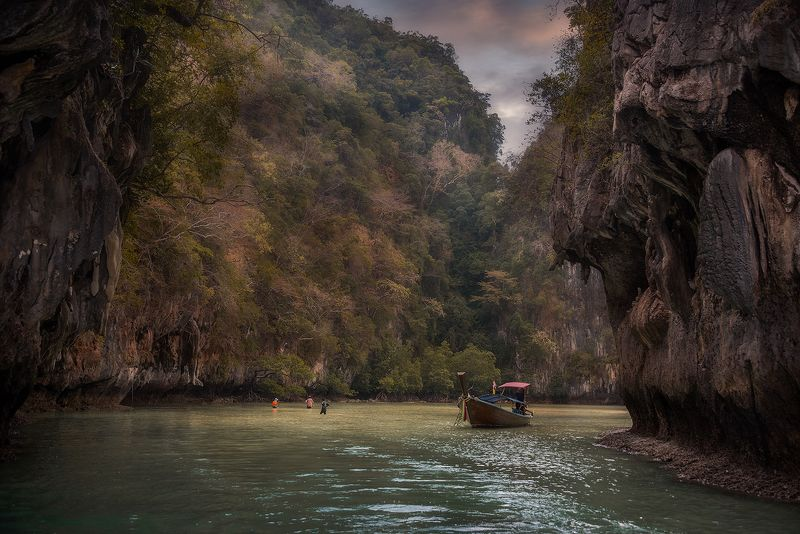 пейзаж,путешествие,Краби,Таиланд,закат, Где то в Азии...photo preview
