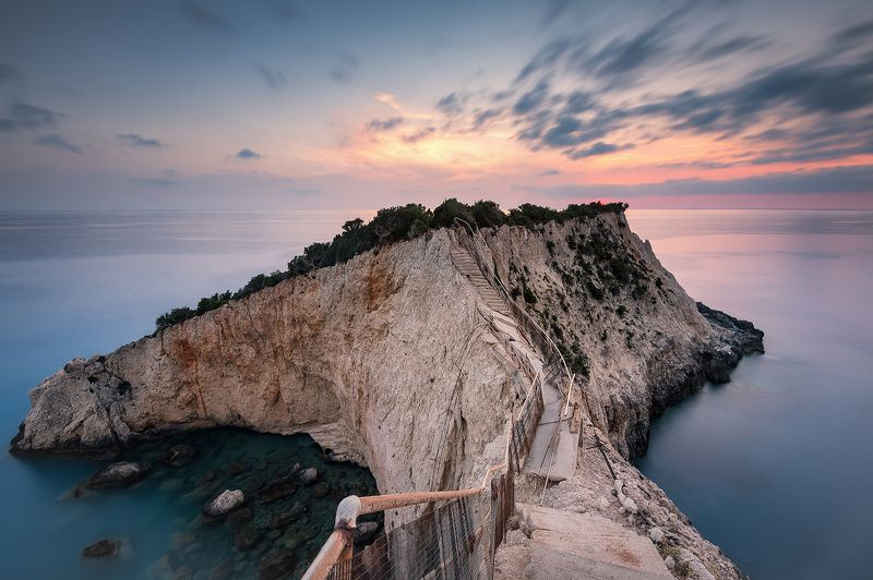 Lefkada, Greece, Porto Katsiki, beach, summer, long exposure Porto Katsikiphoto preview