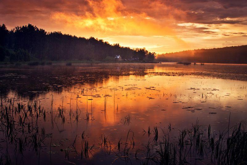 Рассвет на озере Шерамбайphoto preview
