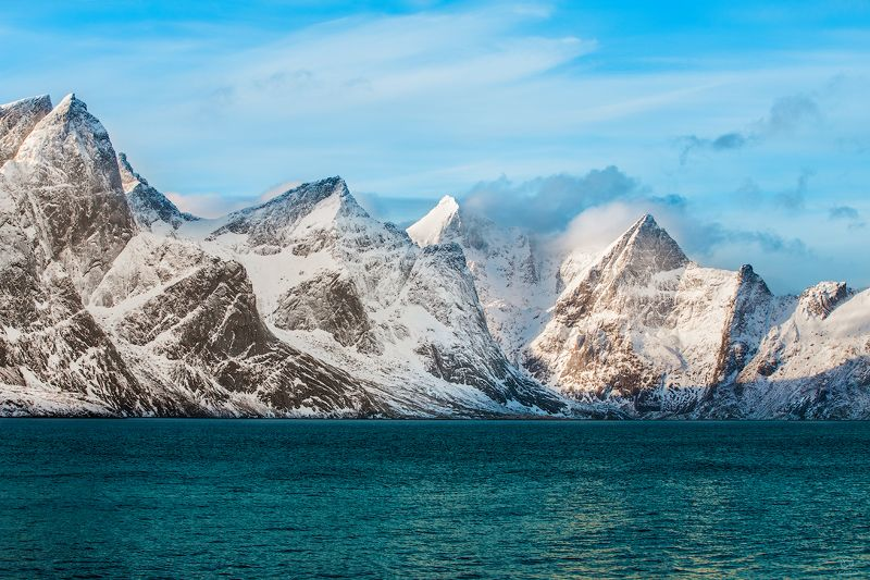 небо, горы, вода Лучше гор могут быть только горы / Norway / Lofotenphoto preview