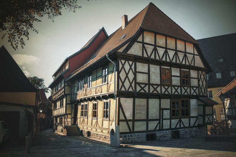 Вернигероде(Германия). Кривой дом.photo preview