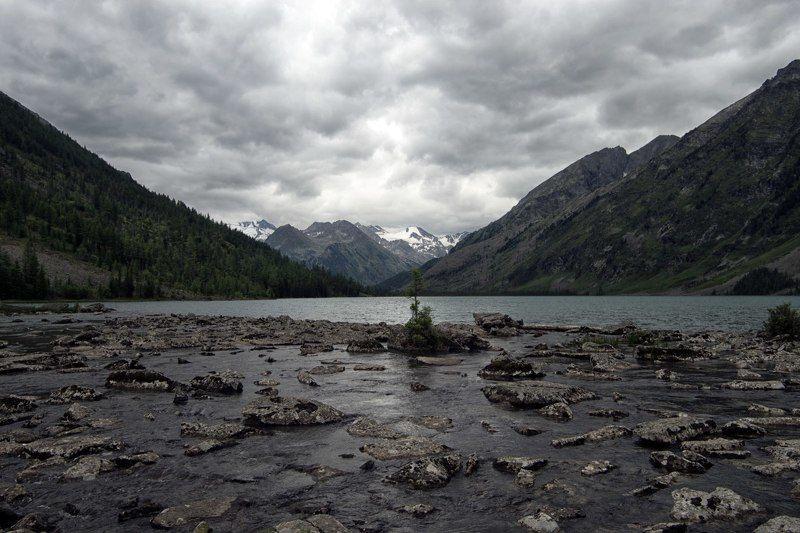 Горный Алтай Среднее Мультинское озероphoto preview