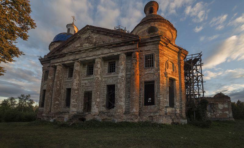 украина, сумская, обл, архитектура, церковь, Церковь Рождества Пресвятой Богородицыphoto preview
