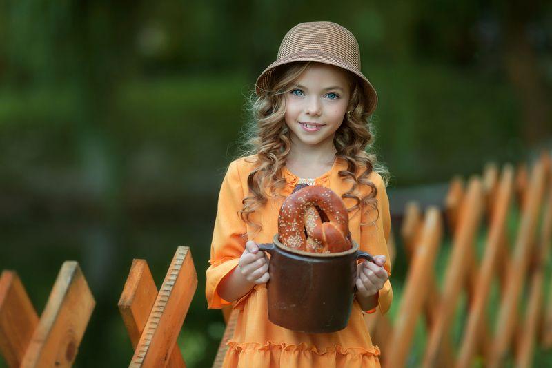дети, детский, портрет Полинаphoto preview