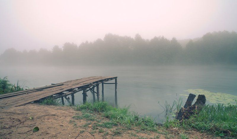 утро, туман, август, мишин илья, пейзаж августphoto preview