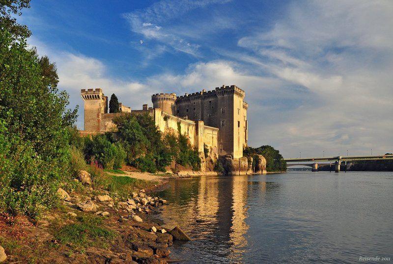 франция, прованс,  тараскон, chateau du roi rene, рона Chateau du roi Renephoto preview