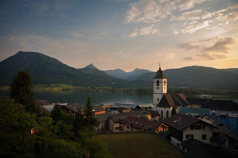 st., wolfgang Evening St. Wolfgangphoto preview