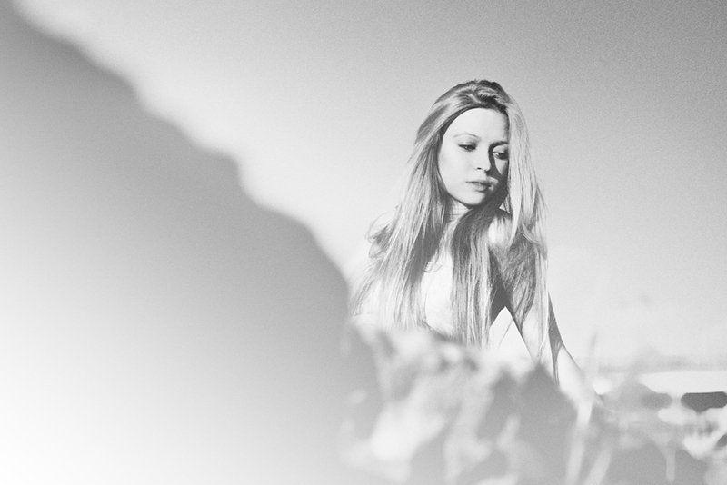 портрет, девушки, ч/б Аннаphoto preview