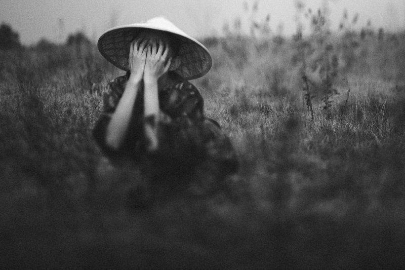portrait, woman, hat, outdoors, arman zhenikeyev, color, horizontal, china, korea, japan, laos, asia, oriental, east Oriental storyphoto preview