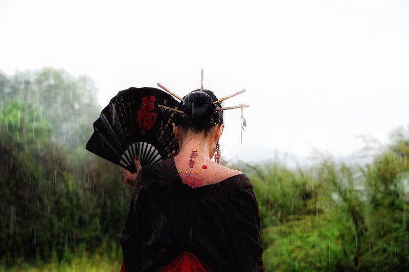 Дождливая гейшаphoto preview