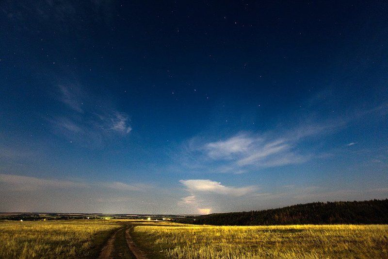 night, stars, russia, tambov Way to the starsphoto preview