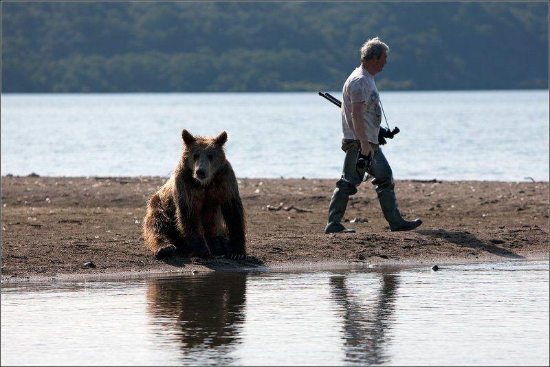 Наши парни и медведиphoto preview