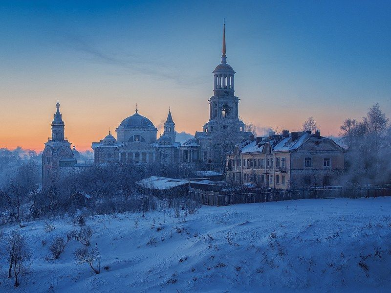 Торжок, зима, -35 С фото превью
