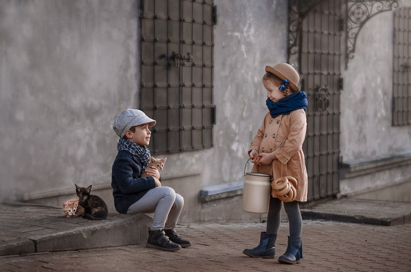 дети котята никон детство Котята/Кittensphoto preview