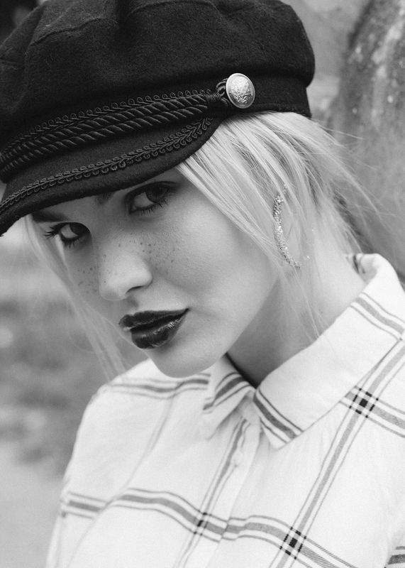 #girl #portrait #bw Лилаphoto preview