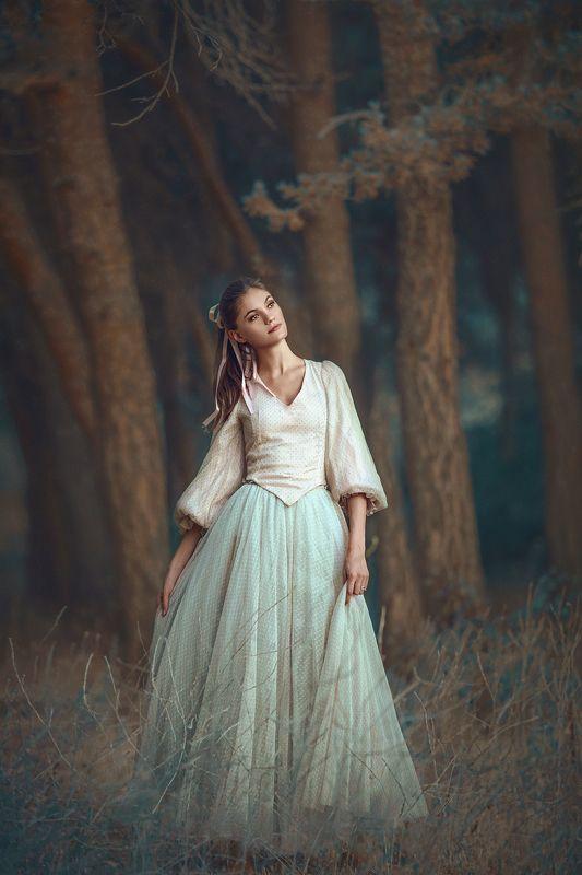портрет, девушка Юляphoto preview