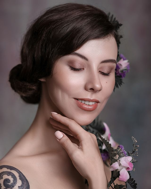 портрет арт art девушка красота модель canon face model nice eye Luphoto preview