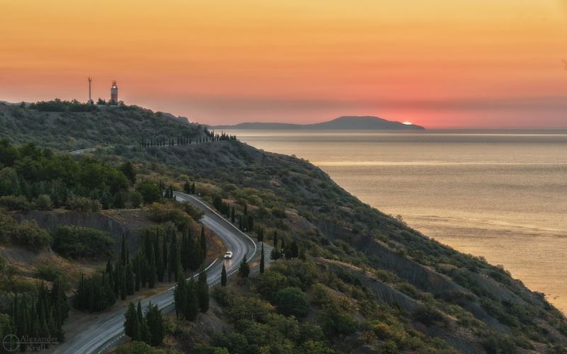 Черноморский рассвет...photo preview